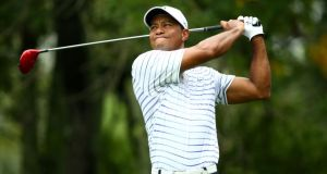 Tiger Woods: has been struggling to rediscover his form following a back operation.