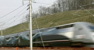 The trains in France are such a joy. Photograph: Reuters