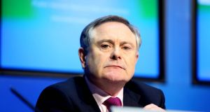 "Minister for Public Expenditure Brendan Howlin signals an ""orderly wind-down"" of pay cuts ""as opposed to a sudden ending"". Photograph: Gareth Chaney Collins"