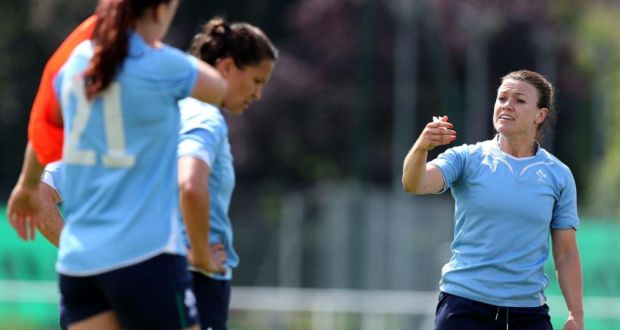 Lynne Cantwell  the issue of media overage of the Ireland player and her  team- 0b3dcf9b06647