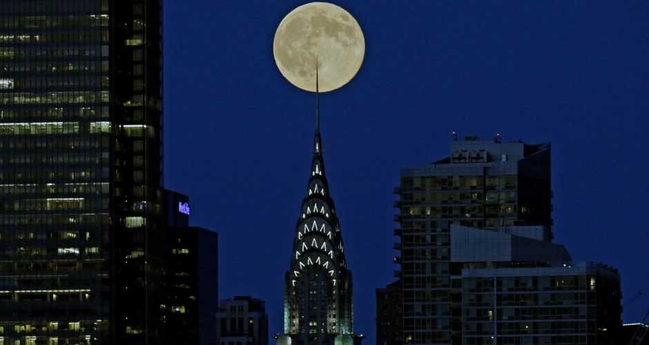 Views of the 'supermoon'