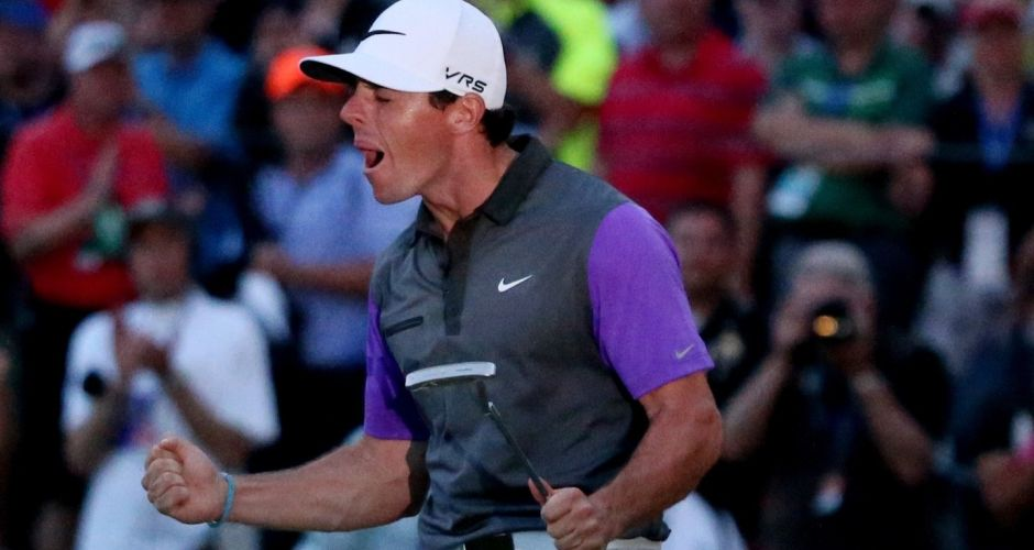 Four! Rory McIlroy wins the USPGA
