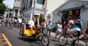 Pedicabs and bikes are the way to go on Commercial Street
