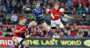 Munster and Leinster are scheduled to renew their televised rivalry on October 4th. Photograph: Inpho