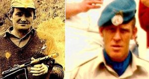 Pte Thomas Barrett (left)and Pte Derek Smallhorne  were abducted and shot dead in 1980 in south Lebanon
