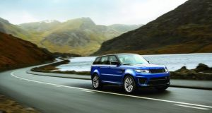 The Range Rover Sport SVR is built for speed