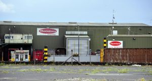 The body parts found at Thorntons Recycling centre in Ballyfermot belonged to a man aged between 25 and 45 years, tests show. Photograph: Aidan Crawley/The Irish Times