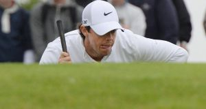 Rory McIlroy: can expect to be targeted by the United States at Gleneagles. Photograph: Alan Betson/The Irish Times