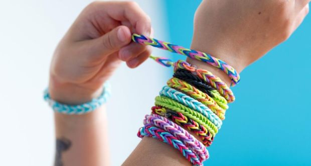 Concerns have been raised about non-certified loom band products, which may contain high levels of phthalate chemicals.  Photograph: Tobias Hase/EPA