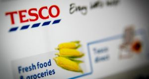 Tesco shares fell to a 10-year low last week as ratings agency S&P cut its credit rating from BBB+ to BBB.
