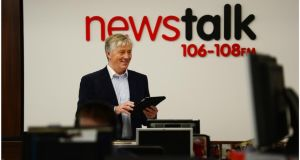 "Pat Kenny: RTÉ rejected a Newstalk ad telling audiences to ""move the dial"" to Newstalk where he now presents a radio show on weekdays. Photograph: Bryan O'Brien"
