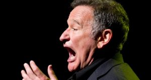 Robin Williams: In the wake of his death statements such as: 'If I keep them laughing, they can't delve any deeper' will be parsed for meaning and significance.   Photograph: Charles Sykes/Invision/AP