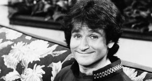 Robin Williams on the set of ABCs 'Mork and Mindy.' Williams was  pronounced dead at his home in California on Monday. Photograph: AP Photo/ABC