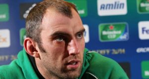 "John Muldoon: ""It's a huge honour to captain my home province"". Photograph: Inpho"