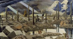 The Menin Road: a 1919 painting by Paul Nash. Photograph: IWM