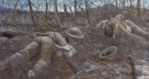 Paths of Glory:  a 1917 painting by the British artist CRW Nevinson. Photograph: IWM