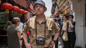 Who am I? Simon Pegg goes in search