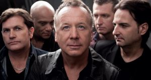 "Think on: Simple Minds, with Jim Kerr, centre. ""As a band, we feel the story can continue"""
