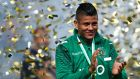 Sporting Lisbon player Marcos Rojo is a Manchester United target. Photograph: EPA