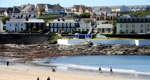 Kilkee: keeping itself clean. Photograph: Alan Betson