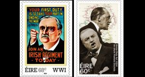 Redmond features in two stamps issued recently by An Post