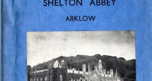 A catalogue from 1950 for the sale of the contents of Shelton Abbey