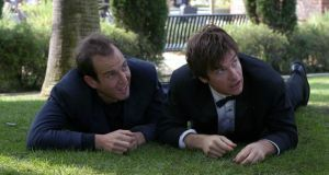 Leftfield: Will Arnett with Jason Bateman in the first series of Arrested Development.  Photograph: Sam Urdank/Fox