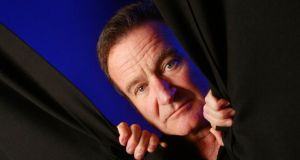 Comedy genius: Robin Williams. Photograph: Jay Paul/New York Times