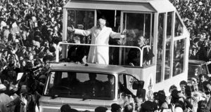 John Paul II in Phoenix Park. 'I wish I'd taken more heed of the pope's message now the old libido is waning'