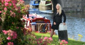 Sallins points: Sharon Nolan of Nolan Properties. Photograph: Dara Mac Dónaill