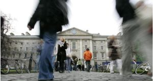 Both Trinity College Dublin and UCD have jumped up considerably in the Shanghai rankings, one of the most prestigious international league tables for higher education institutions. Photographer: Dara Mac Dónaill/The Irish Times