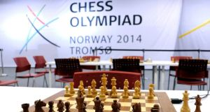 Hundreds of spectators attending the 41st Chess Olympiad in Tromso, Norway,  reacted with shock after Kurt Meier (67), a Swiss-born member of the Seychelles team, collapsed during his final match of the marathon two-week contest. Despite medical attention at the scene he died later in hospital. Photograph: Reuters/Rune Stoltz Bertinussen