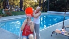Ice Bucket Challenges are raising big bucks for charity and gaining momentum through social media. Video: Reuters