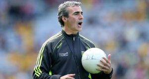 "Donegal boss Jim McGuinness: ""I think the divide is becoming bigger and bigger.  Dublin are way out in front of any other team."" Photo: Cathal Noonan/Inpho"