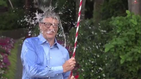 Bill Gates pull the cord on himself.