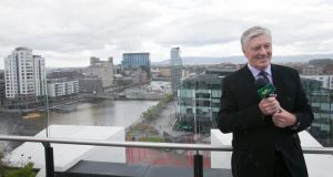 Pat Kenny at the Marker Hotel, Grand Canal Square for the announcement that he will host a new television show on UTV Ireland.   Dublin. Photo: Gareth Chaney Collins