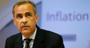 Bank of England  governor  Mark Carney: has gone from rock-star banker to City's 'unreliable boyfriend'. Photograph: Suzanne Plunkett/PA Wire