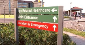 Public patient referrals: new system in Tallaght, Cork and Kerry makes automated bookings. Photograph: David Sleator