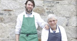 Gavin and Pat Lynch are rearing and selling organic beef, turkeys, fruit and hazelnuts on their family farm, Hell's Kettle, in Co Wicklow