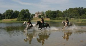 Castle Leslie estate is a mecca for horse riding enthusiasts and has its own equestrian centre