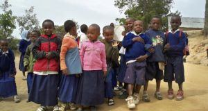 Schoolchildren in Tanzania, Africa: access to education is critical. Photograph: Thinkstock
