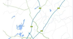 The Gort-Tuam motorway is a public-private partnership project. Thus, the Direct Route consortium (Roadbridge, John Sisk and Lagan) may be entitled to claim compensation if traffic levels fail to meet the NRA's projections.