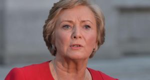Minister for Justice Frances Fitzgerald: published draft laws to expand the powers of the Garda Síochána Ombudsman Commission. Photograph: Alan Betson
