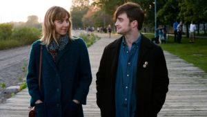 Kook, line and sinker: Daniel Radcliffe and Zoe Kazan in What If