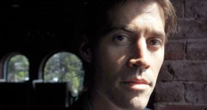 James Foley: the journalist came from an Irish-American family in Rochester, New Hampshire. Photograph: AP Photo/Steven Senne, File