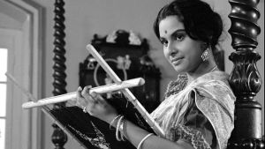 Perfect posture: Madhabi Mukherjee in Charulata (The Lonely Wife)