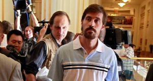 US defence officials have said they failed in an attempt to rescue journalist James Foley (pictured) and other hostages in Syria earlier in the summer. Mr Foley was subsequently executed by the Islamic State group, which was documented in a video posted online by them.  Photograph: Louafi Larbi/Reuters.