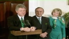 St Patrick's Day 2011: Washington 1993. Former Taoiseach, Albert Reynolds travelled to Washington to meet the President of the United States, Bill Clinton. Video: RTÉ