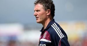 Alan Mulholland has stepped down from his role as Galway manager. Photograph: Ryan Byrne/Inpho
