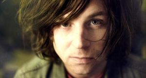Ryan Adams: 'It was so dark. I don't think I could have been in a worse position, but I think, if anything, I handled it pretty good.' Photograph: Julia Brokaw